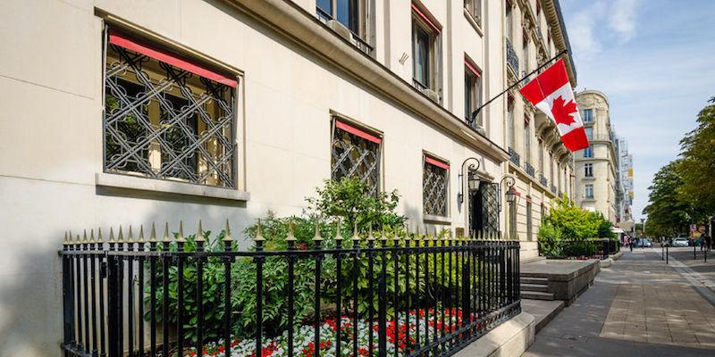 Canadian Embassy Information