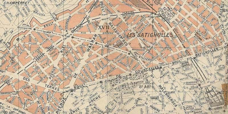 17th Arrondissement in 1905