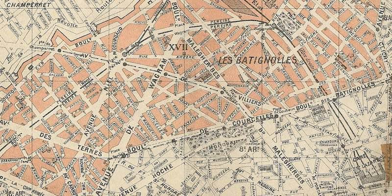 17th Arrondissement in 1905