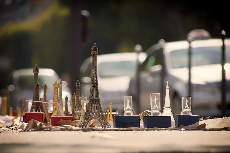 Eiffel Tower Memorabilia, Port Debilly, 16th Arrondissement, 2010