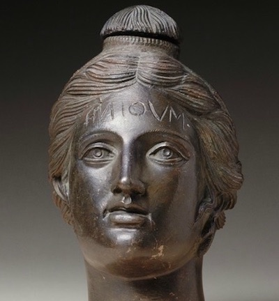 Vase in the Form of a Woman's Head