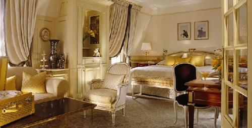 Romantic Paris Hotels