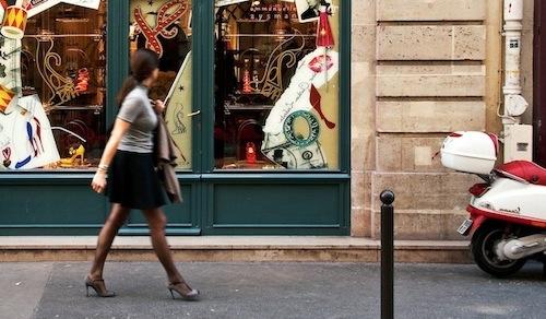 Paris Street Fashion — Women