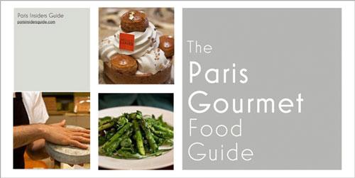 The Paris Gourmet Food eGuide