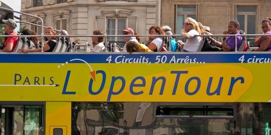Paris Hop-on Bus Tour