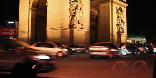 Paris Taxi Night