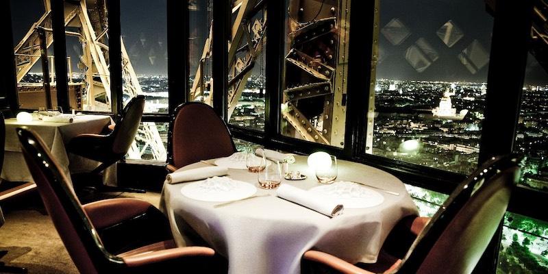 Eiffel Tower Gourmet Dinner