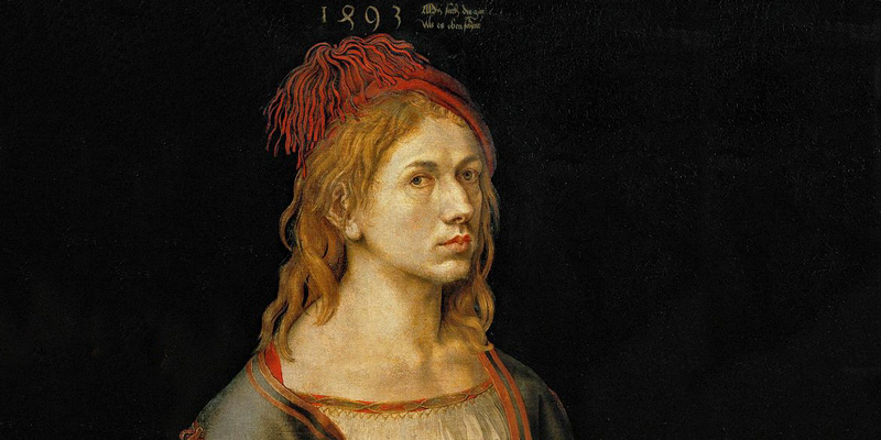 Albrecht Dürer, self portrait