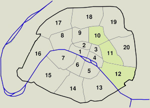 Paris Arrondissements: 1st & 2nd