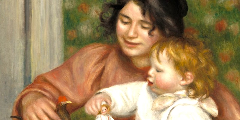 Renoir Father & Son