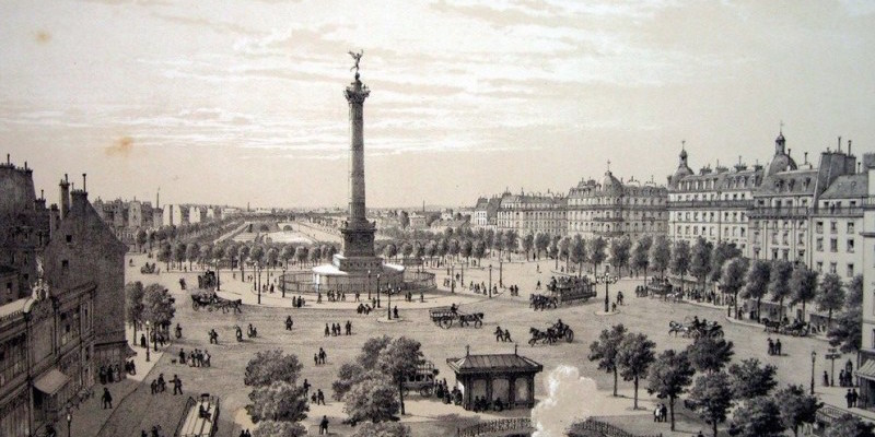 the Bastille in Paris