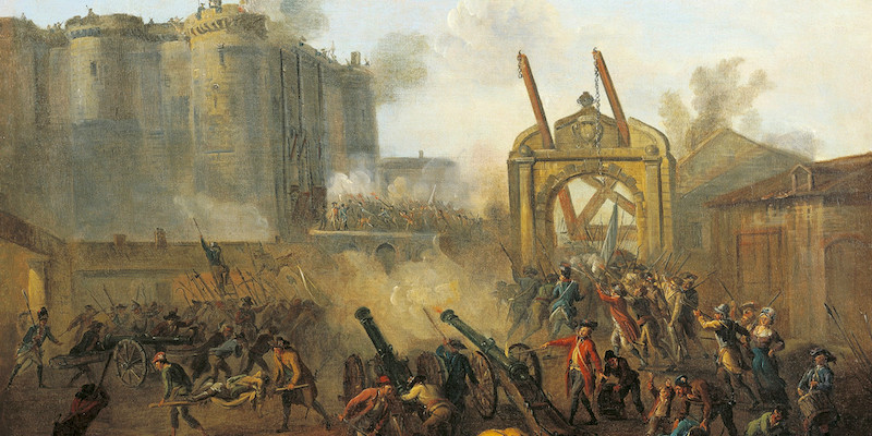 Storming of the Bastille prison