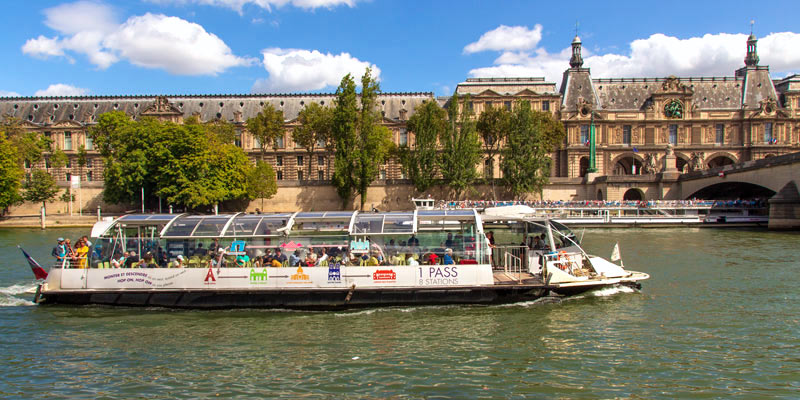Travel Around Paris by Boat