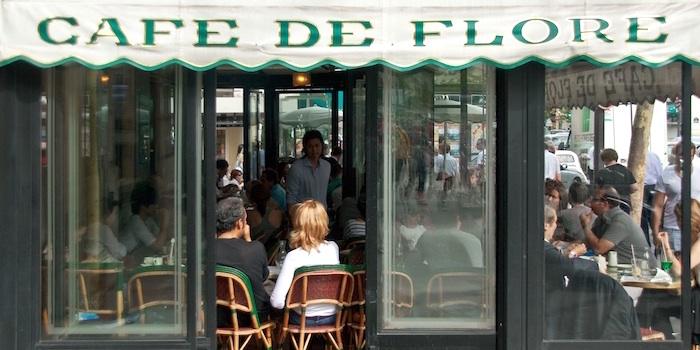 Cafe de Flore, photo by Mark Craft