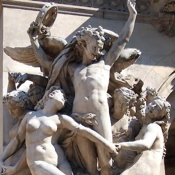 Carpeaux, La Danse, Palais Garnier
