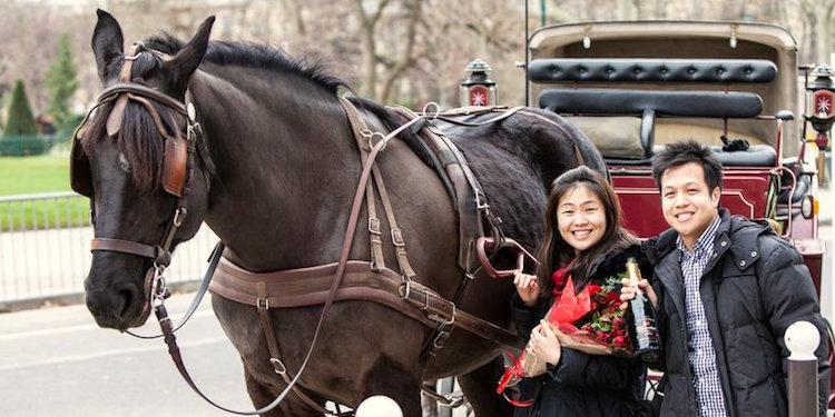 Romantic Horse & Carriage Rides in Paris