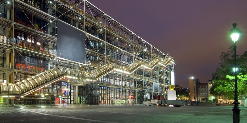 Pompidou Quick Access Museum Ticket
