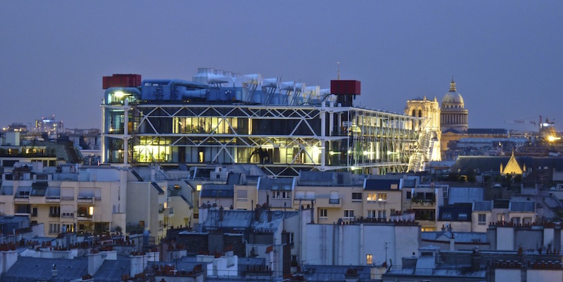 Visiting Centre Pompidou