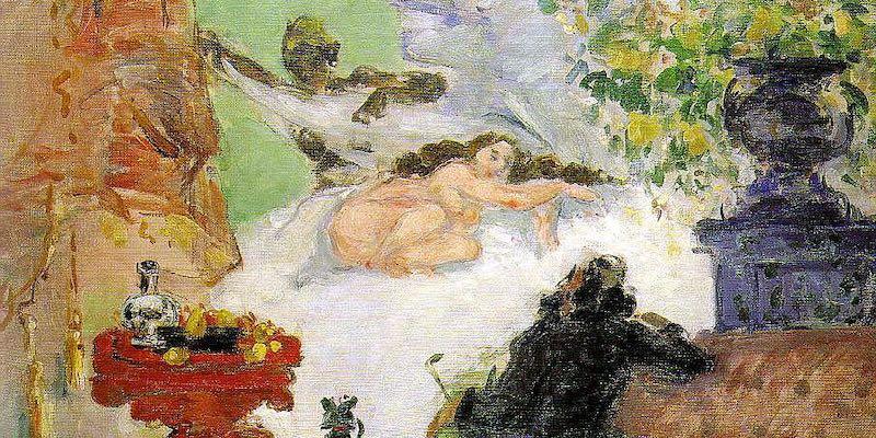 Cezanne, A Modern Olympia, 1874