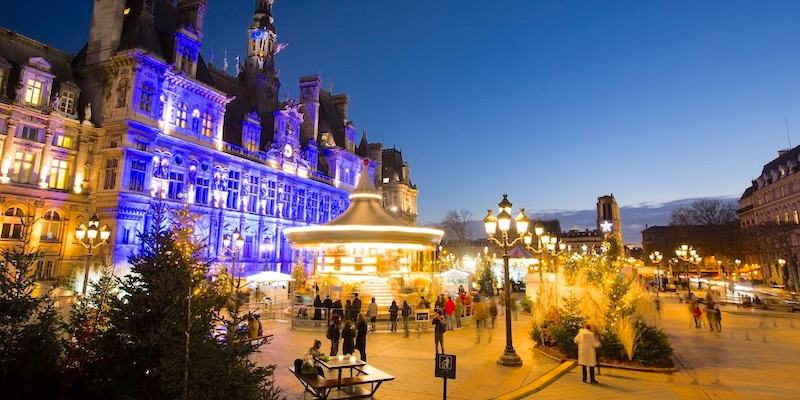Christmas Market at Hotel de Ville
