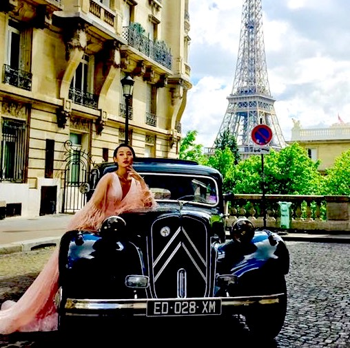 Vintage Tour of Paris
