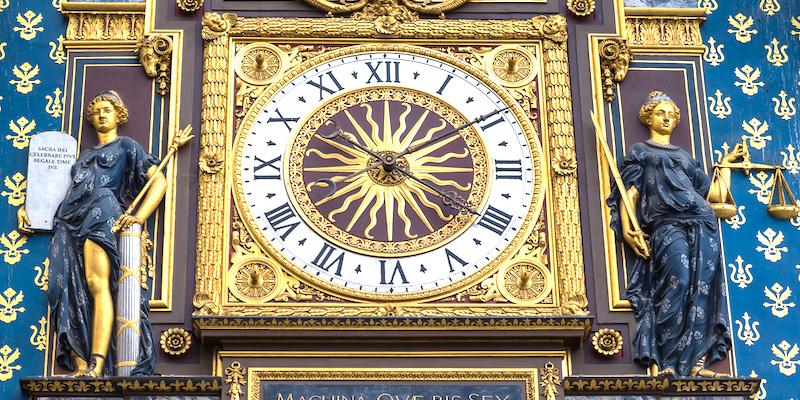 Tour de l'Horloge, La Conciergerie, detail