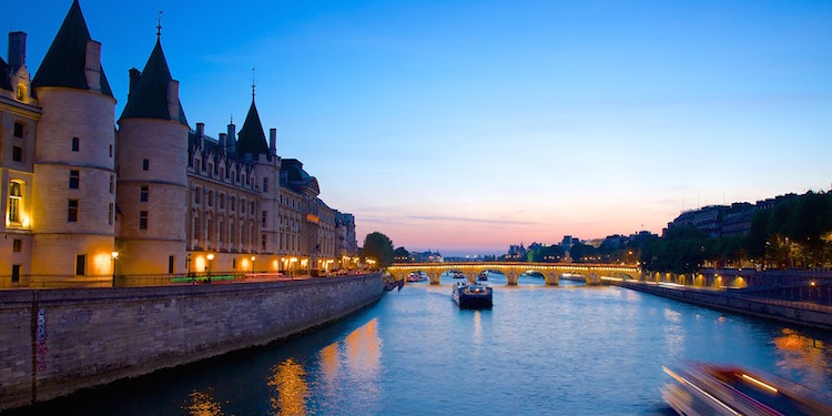 The Seine at Dusk
