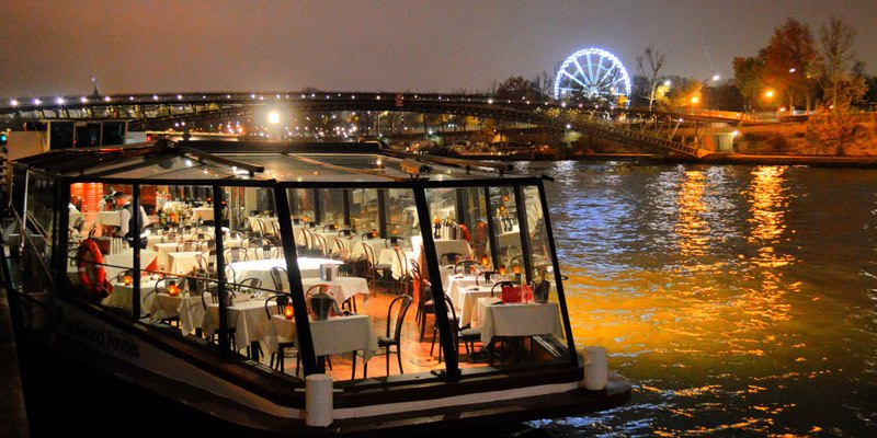 A Dinner Cruise on the Seine