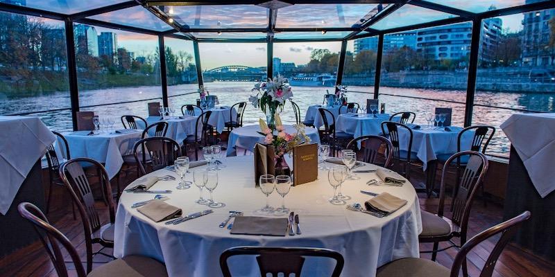 Dinner Cruise with Marina de Paris