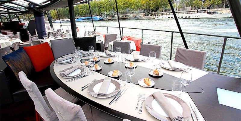 Lunch Cruise on the Seine