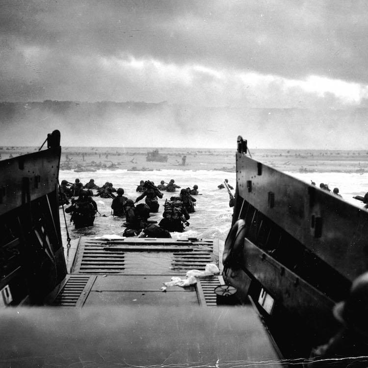 D-day beaches driving tour