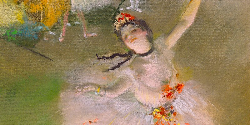 Edgar Degas Ballerina