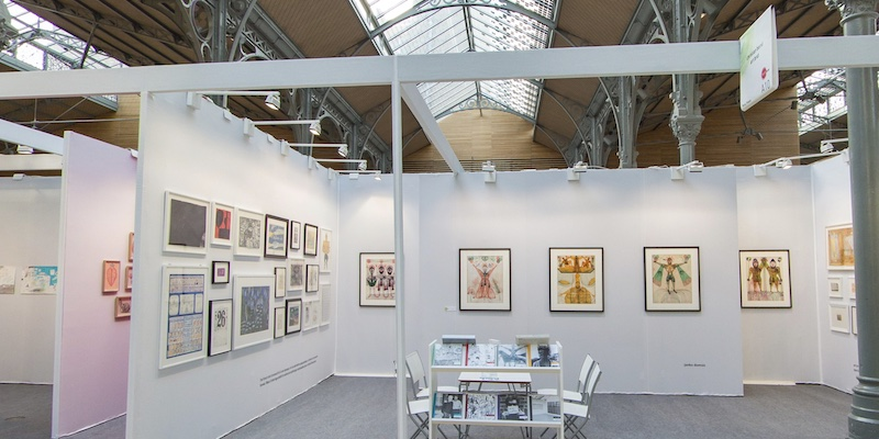 Drawing On Paris Art Fair