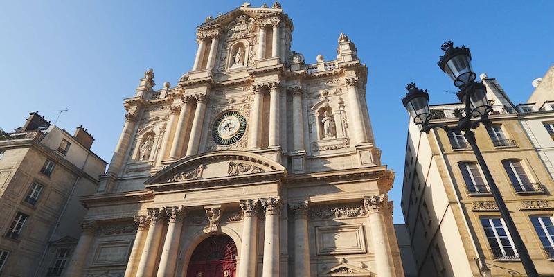 Eglise Saint Paul Saint Louis, photo by Matthieu Olivier