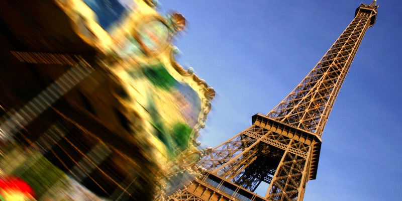 Eiffel Tower & carousel