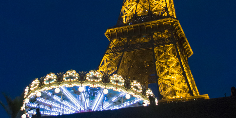 Dinner on the Eiffel Tower
