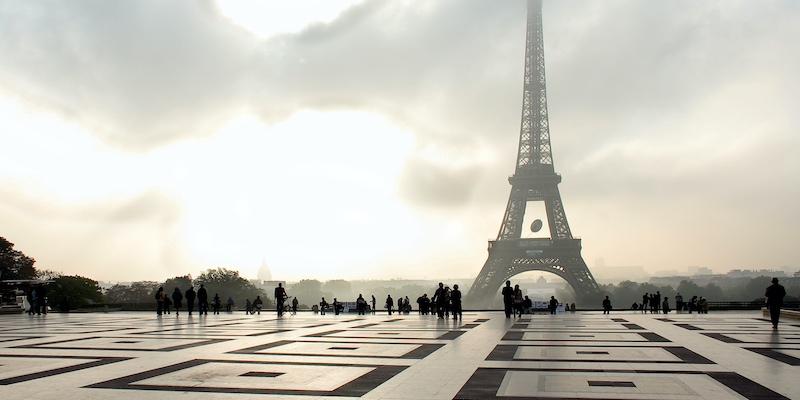 Eiffel Tower, photo by Mark Craft