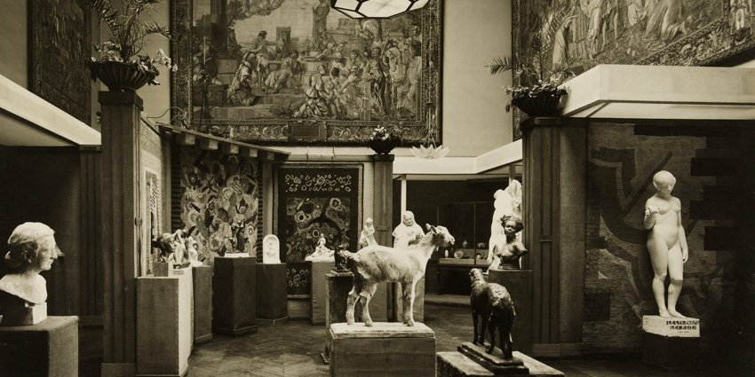 Palais Galliera in 1928, when it was used for miscellaneous exhibitions