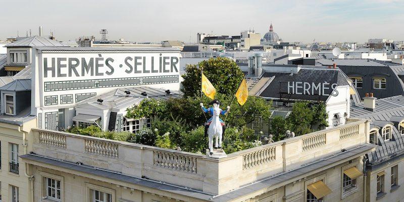 Hermes Secret Rooftop Garden