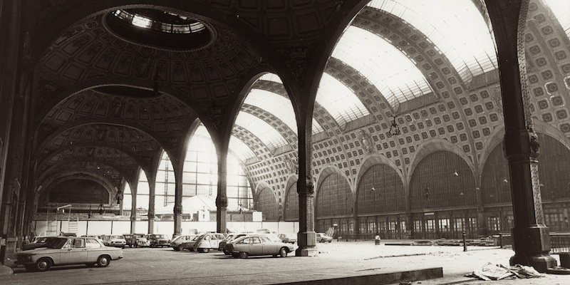 Parking in Gare d'Orsay