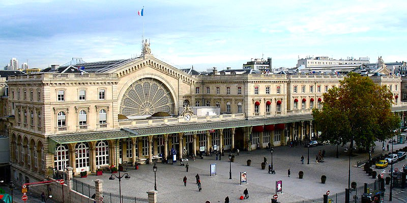 Gare de l'Est, photo Wikimedia