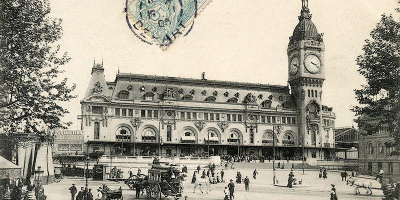 Gare de Lyon 1900