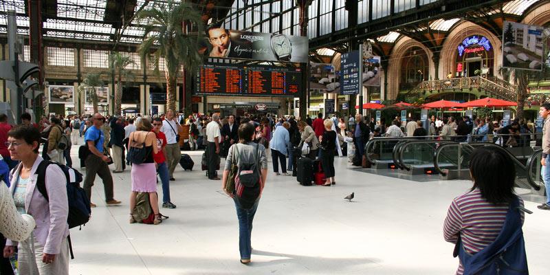 Train Travel from Paris