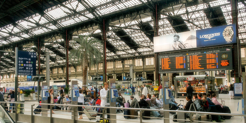 High-Speed Train from Paris