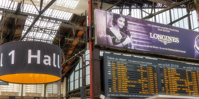 Hall 1 at Gare de Lyon, photo by Mark Craft