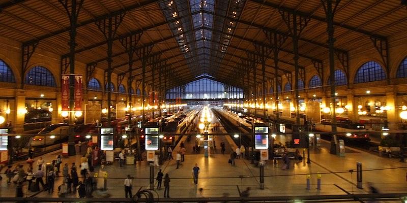 Gare du Nord 1910