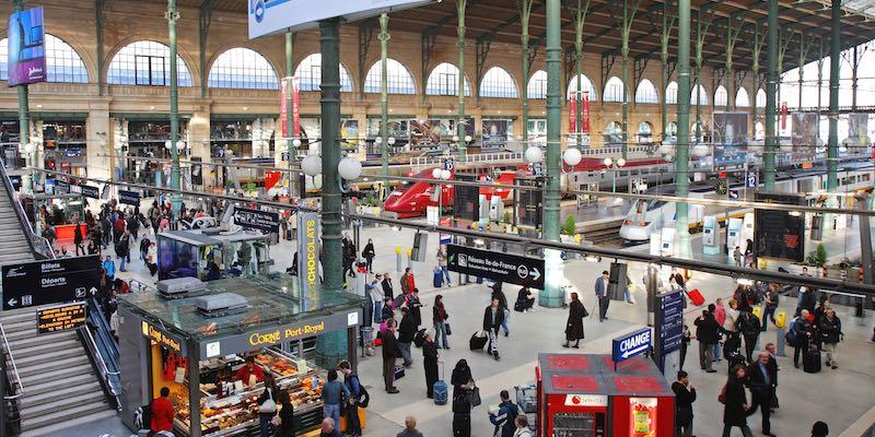 Gare du Nord Interior