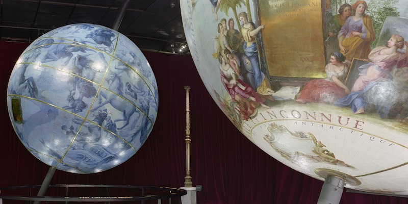 Globes of Louis XIV