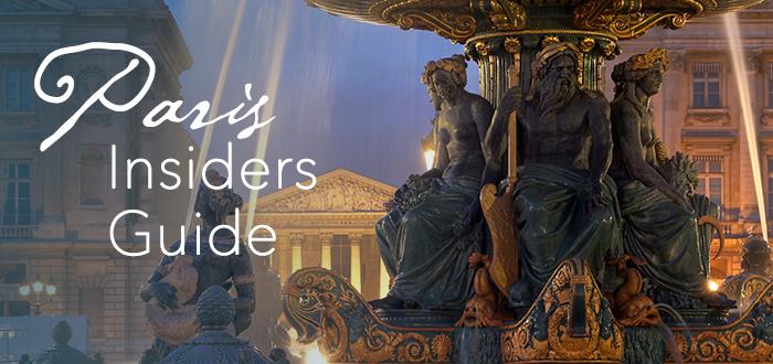 Paris Insiders Guide