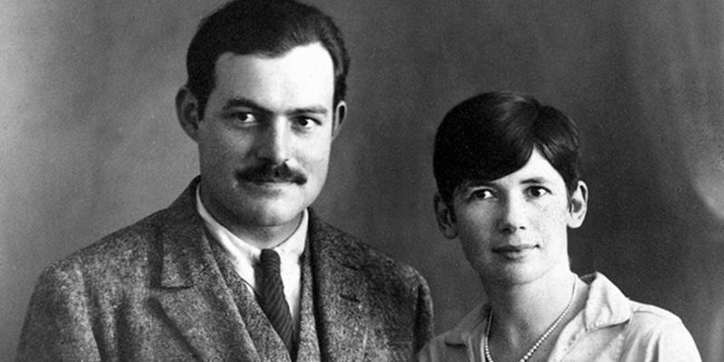 Hemingway & Pauline Pfeiffer